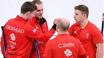Winter Olympics - Bbc Two Day 10: Gb Take On Denmark In Men's Curling Action