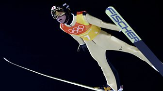 Winter Olympics - Bbc Two Day 10: Gb Women In Curling, Two-man Bobsleigh And Men's Ski Jumping