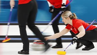 Winter Olympics - Bbc Two Day 11: Gb Women Curlers Take On Japan