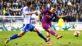 Fa Cup - 2017/18: Fifth Round: Wigan Athletic V Manchester City