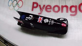 Winter Olympics - Bbc Two Day 11: Great Britain's Women In Bobsleigh Action