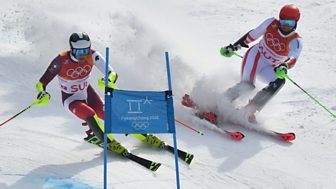 Winter Olympics - Bbc One Day 15: Alpine Team Event And Parallel Giant Slalom