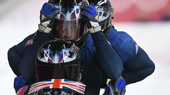 Winter Olympics - Bbc One Day 15: Bobsleigh And Alpine Slalom Team Event