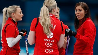 Winter Olympics - Bbc One Day 15: Gb Women In Curling Bronze Medal Match
