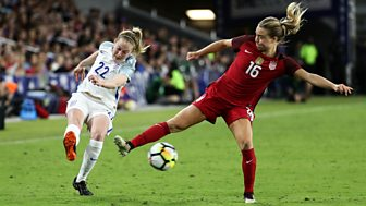 Shebelieves Cup - 2018: 1. Usa V England