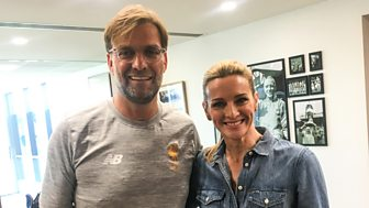 Motd: The Premier League Show - Gabby Logan Meets Jurgen Klopp