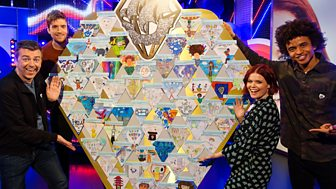 Blue Peter - Greg James And A Diamond Delivery