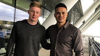 Motd: The Premier League Show - Jenas Meets Kevin De Bruyne