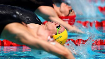 Commonwealth Games - Day 4, Part 4: Featuring Men's 100m Freestyle And Women's Backstroke