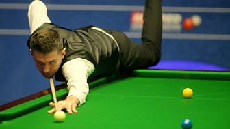 Snooker: World Championship - 2018: Day 1, Morning Session