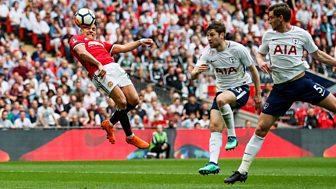 Fa Cup - 2017/18: Semi-final Highlights: Manchester United V Tottenham Hotspur