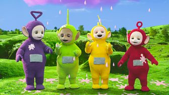 Teletubbies - Series 2: 50. Rain