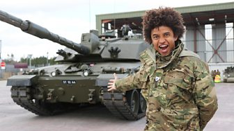 Blue Peter - Tanks, Tumbles And Football Fun