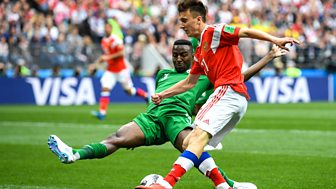 Match Of The Day - Replay: Russia V Saudi Arabia