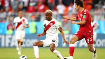 Match Of The Day Live - Peru V Denmark