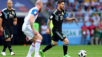Match Of The Day - Replay: Argentina V Iceland