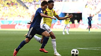 Match Of The Day Live - Colombia V Japan