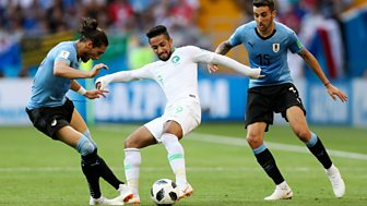 Match Of The Day Live - Uruguay V Saudi Arabia