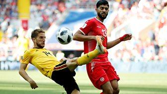 Match Of The Day Live - Belgium V Tunisia