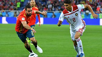 Match Of The Day Live - Spain V Morocco