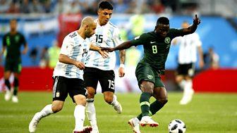 Match Of The Day Live - Argentina V Nigeria