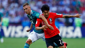 Match Of The Day - Highlights: Brazil V Serbia, Switzerland V Costa Rica, Germany V South Korea And Mexico V Sweden