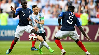 Match Of The Day - Replay: France V Argentina