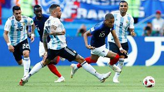 Match Of The Day - Highlights: France V Argentina, Uruguay V Portugal