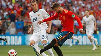 Match Of The Day Live - Round Of 16: Spain V Russia