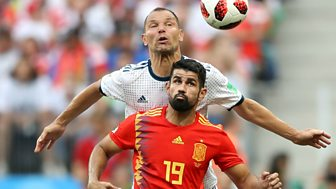 Match Of The Day - Replay: Spain V Russia