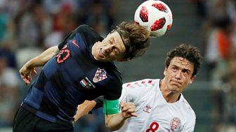 Match Of The Day - Highlights: Spain V Russia, Croatia V Denmark