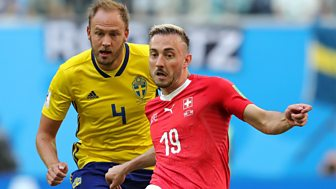 Match Of The Day Live - Round Of 16: Sweden V Switzerland