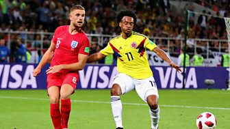 Match Of The Day - Replay: England V Colombia