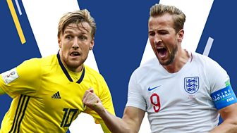 Match Of The Day Live - Quarter-final Build-up: Sweden V England