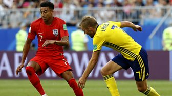 Match Of The Day Live - Quarter-final: Sweden V England