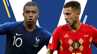 Match Of The Day Live - Semi-final: France V Belgium