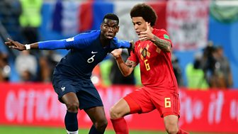Match Of The Day - Replay: Semi-final: France V Belgium