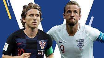 Match Of The Day - Replay: Semi-final: Croatia V England