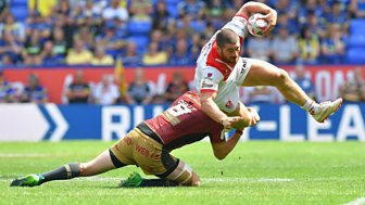 Rugby League: Challenge Cup - 2018: Semi-final: St Helens V Catalans
