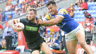 Rugby League: Challenge Cup - 2018: Semi Final: Warrington Wolves V Leeds Rhinos