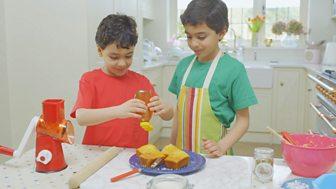 My World Kitchen - Series 2: 10. Balthazar's Turkish Revani Cake