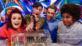 Blue Peter - Creepy Crawlies And A Cool Competition