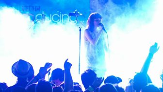 BBC Music, T in The Park 2014 - Chvrches, Gun (surprise BBC Introducing guest slot)