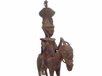 A bronze statue of Prince Oranmiyan