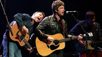 [WATCH] BBC News - Albarn and Gallagher perform together for cancer trust