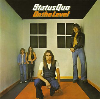 Status Quo's On the Level cover
