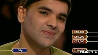 Naughty Boy on Deal or No Deal, 2007