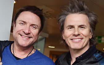 Listen: Simon Le Bon and John Taylor talk to Steve Wright