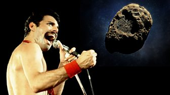 BBC News - Freddie Mercury: Asteroid named after late Queen star