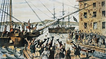 Programme image from Things We Forgot to Remember: Episode 1: The Real Boston Tea Party, 1773